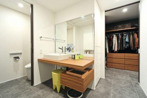 卫生间现代风格效果图大全2017图片_土拨鼠唯美舒适卫生间现代风格装修设计效果图欣赏