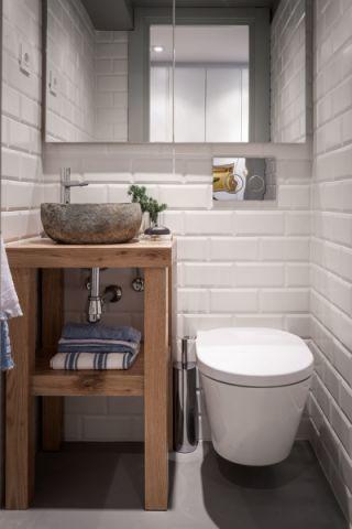 卫生间北欧风格效果图大全2017图片_土拨鼠典雅迷人卫生间北欧风格装修设计效果图欣赏