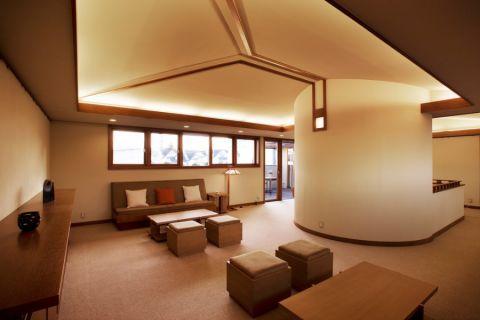 客厅日式风格效果图大全2017图片_土拨鼠时尚舒适客厅日式风格装修设计效果图欣赏