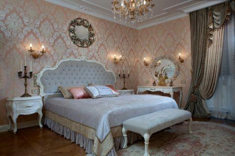 卧室简欧风格效果图大全2017图片_土拨鼠个性风雅卧室简欧风格装修设计效果图欣赏