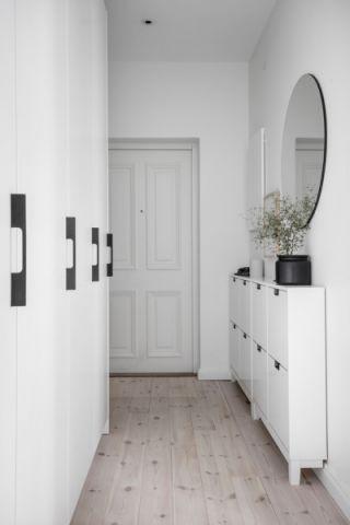 走廊北欧风格效果图大全2017图片_土拨鼠大气温馨走廊北欧风格装修设计效果图欣赏