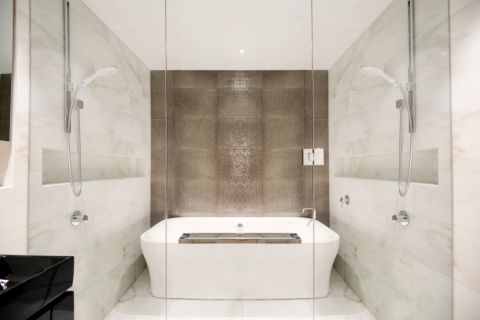 卫生间现代风格效果图大全2017图片_土拨鼠休闲迷人卫生间现代风格装修设计效果图欣赏
