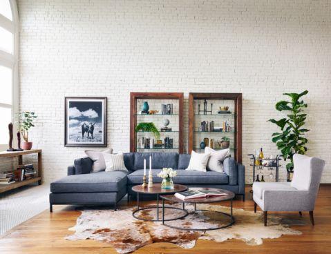 客厅北欧风格效果图大全2017图片_土拨鼠个性格调客厅北欧风格装修设计效果图欣赏