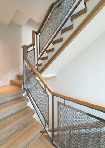 楼梯北欧风格效果图大全2017图片_土拨鼠时尚质感楼梯北欧风格装修设计效果图欣赏