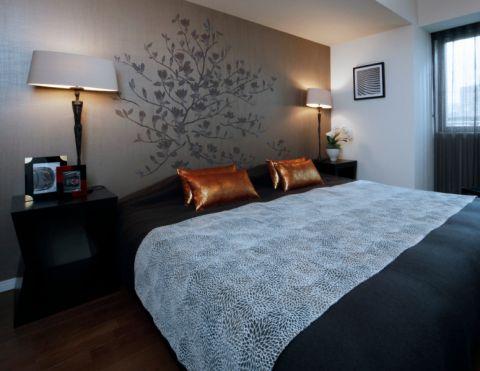 卧室日式风格效果图大全2017图片_土拨鼠美感迷人卧室日式风格装修设计效果图欣赏