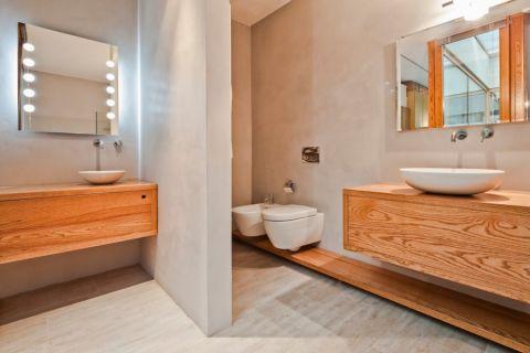 浴室北欧风格效果图大全2017图片_土拨鼠典雅唯美浴室北欧风格装修设计效果图欣赏