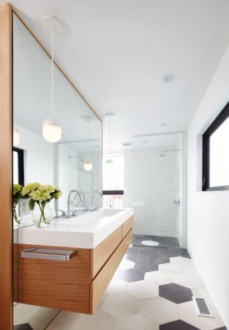 卫生间现代风格效果图大全2017图片_土拨鼠美感创意卫生间现代风格装修设计效果图欣赏