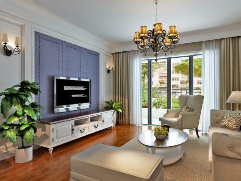 合肥地矿家园100平米现代简约风格二居室装修案例