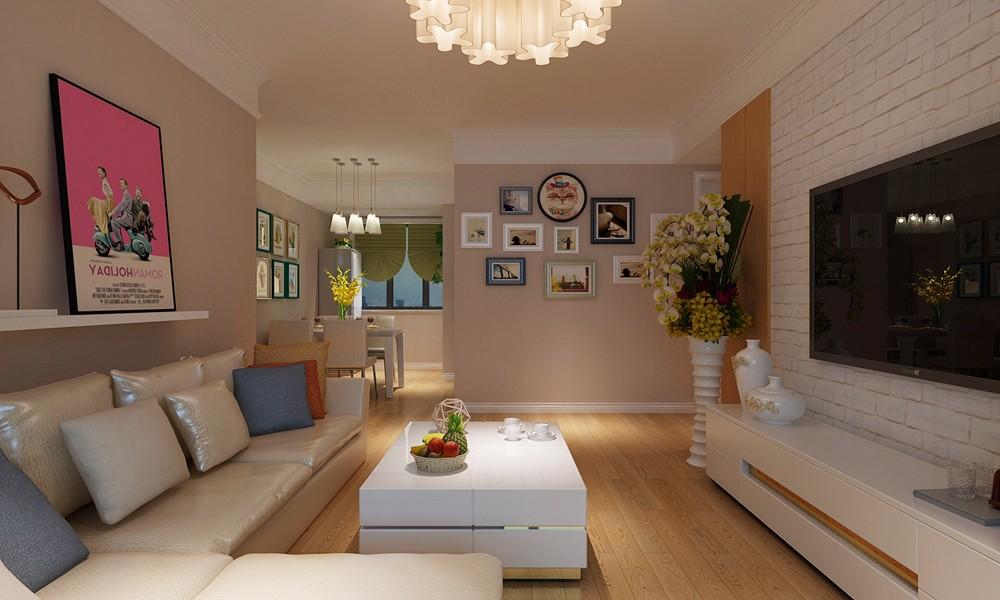 2室1卫2厅93平米北欧风格