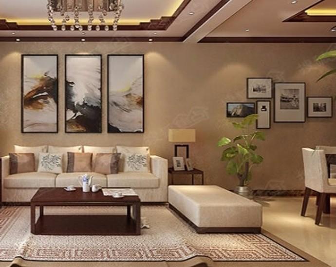 2室1卫1厅66平米新中式风格