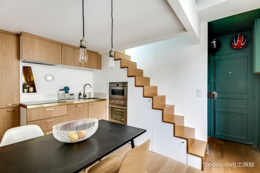 2019混搭厨房装修图 2019混搭楼梯装修效果图片
