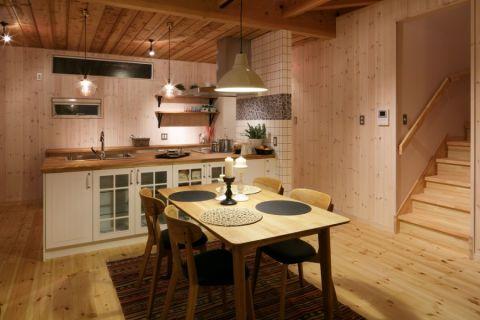 北欧餐厅小餐桌装修美图