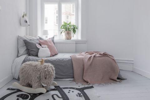 儿童房北欧风格效果图大全2017图片_土拨鼠时尚温馨儿童房北欧风格装修设计效果图欣赏