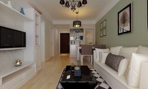 合肥通和易居80平方现代简约二居室装修案例
