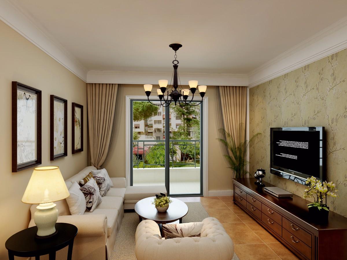 3室1卫1厅90平米美式风格