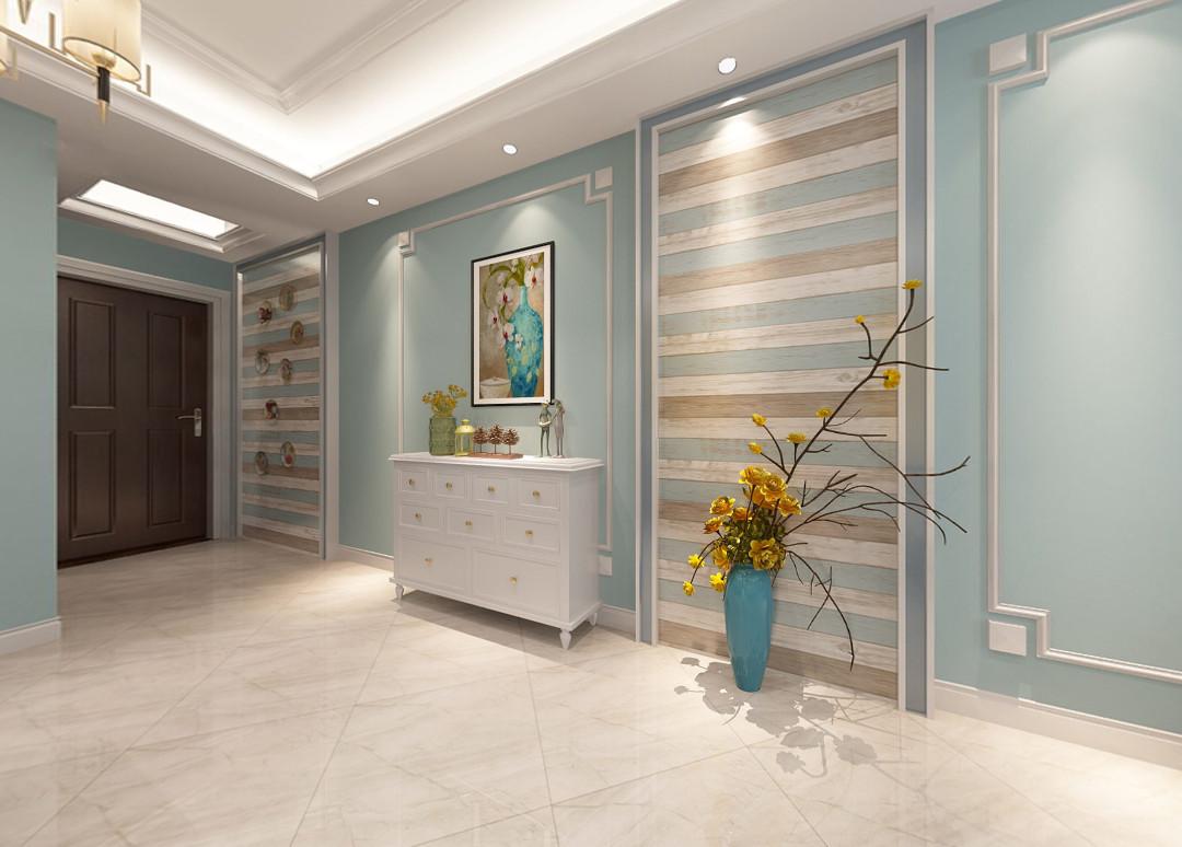 3室1卫2厅88平米美式风格