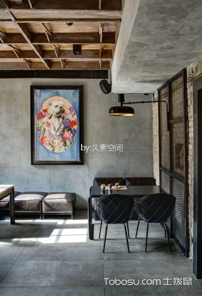 咖啡厅茶水区灰色背景墙装修图片