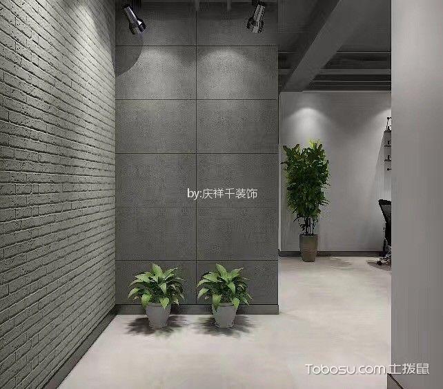 鑫苑鑫中心办公区灰色背景墙装修图片