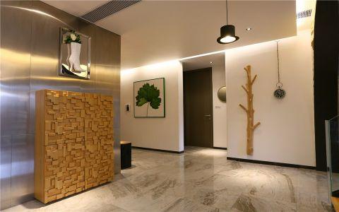 玄关背景墙现代简约风格装饰效果图
