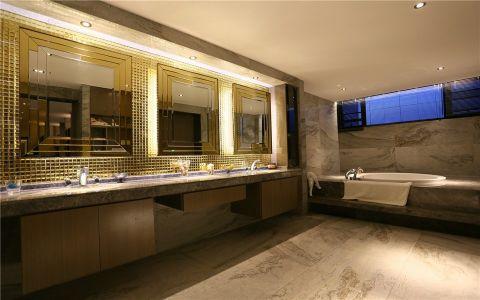 卫生间细节现代简约风格装潢设计图片