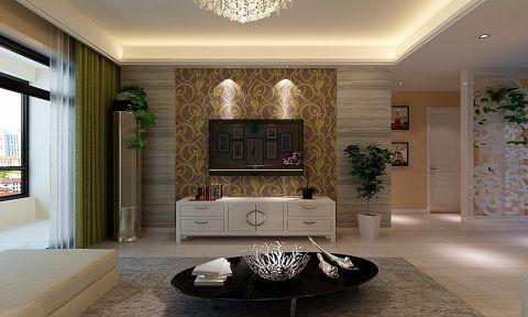 合肥和昌都汇华府110平米现代风格三居室装修案例
