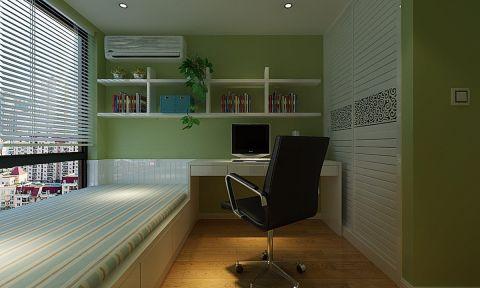 儿童房榻榻米现代简约风格装潢设计图片