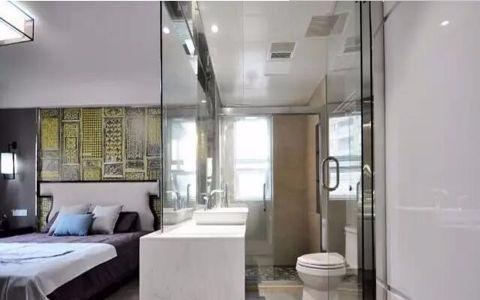 卫生间细节新中式风格装潢效果图