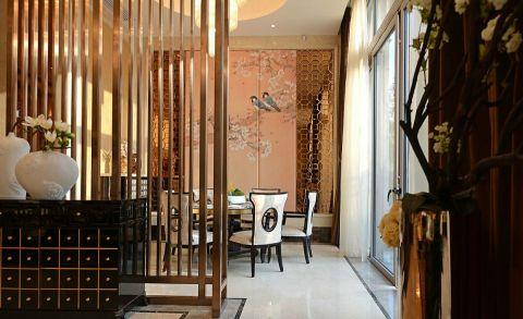 餐厅餐桌新中式风格效果图