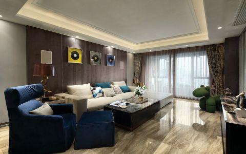 名城世家90平方三居室简约风格效果图