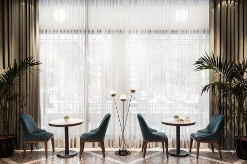 20万酒吧餐厅工装装修效果图