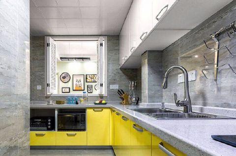 厨房橱柜北欧风格装饰设计图片