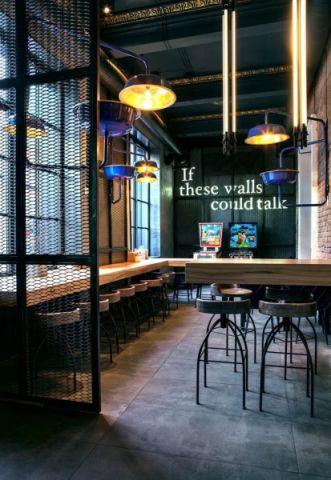 32万咖啡厅工装设计装修效果图