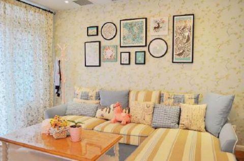 2020田园90平米效果图 2020田园公寓装修设计