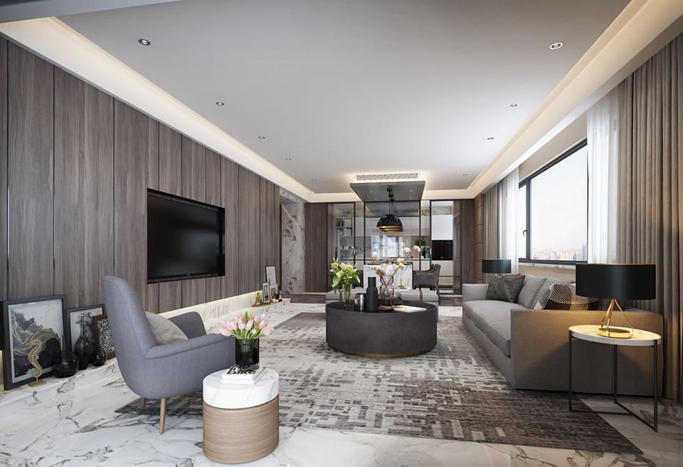 4室3卫2厅现代风格