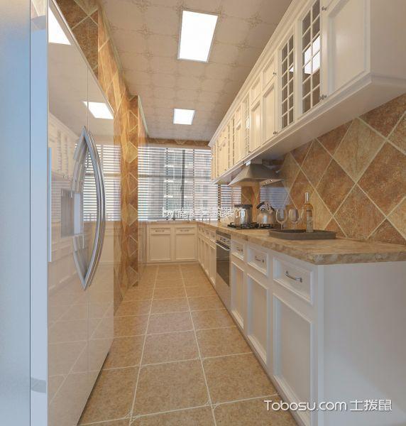 厨房彩色细节欧式风格装饰设计图片