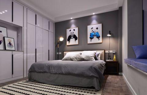 金科米兰75平方北欧风格二居室装修效果图