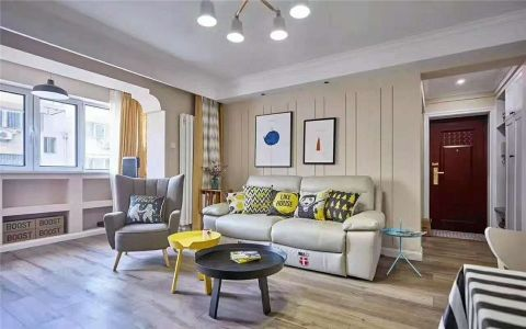 2020北欧80平米设计图片 2020北欧二居室装修设计