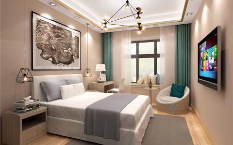2020现代中式120平米装修效果图片 2020现代中式二居室装修设计