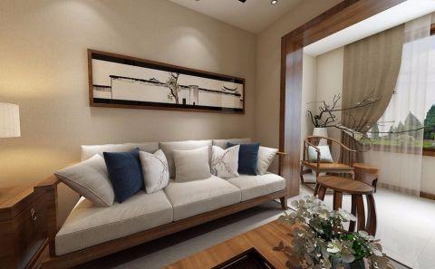 俏業家|重慶世茂茂悅府70平兩居室中式風格裝修效果圖