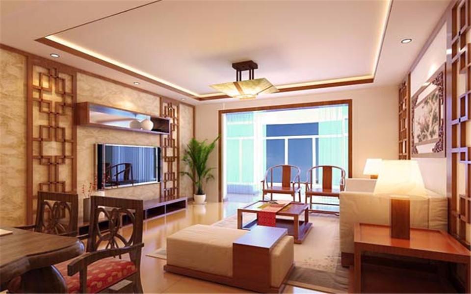 4室2卫2厅113平米新中式风格