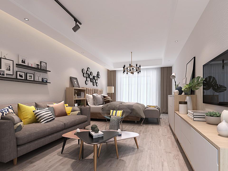 3室3卫2厅200平米北欧风格