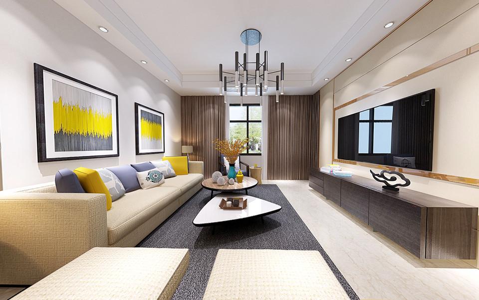 3室2卫2厅113平米现代风格
