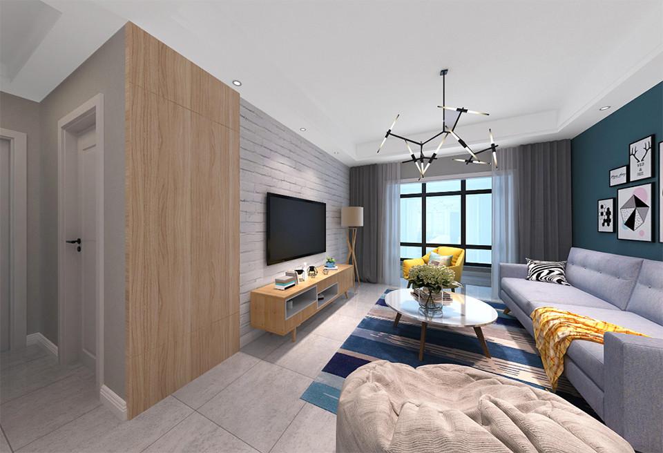 2室1卫2厅85平米北欧风格