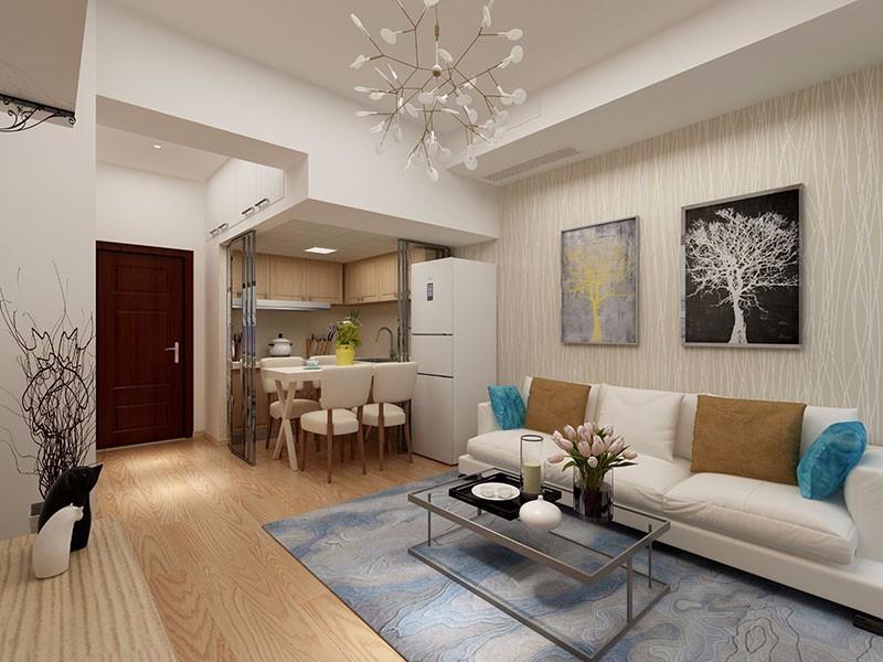 2室1卫1厅42平米简约风格