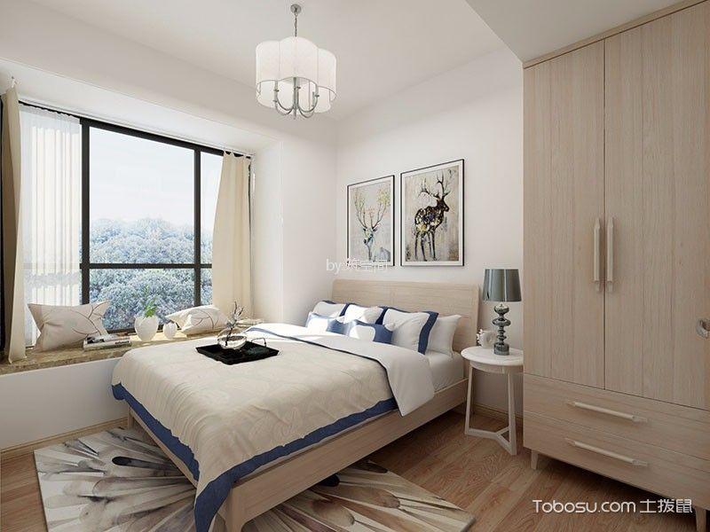 上海三迪曼哈顿63平米北欧风格效果图