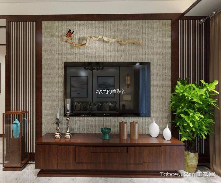 海宇西苑新中式100平三居室装修效果图