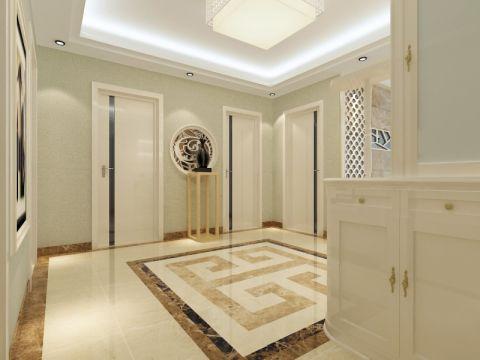 玄关门厅现代简约风格装潢设计图片