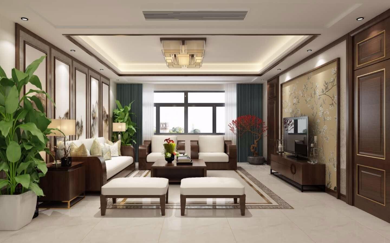 3室2卫2厅154平米中式风格