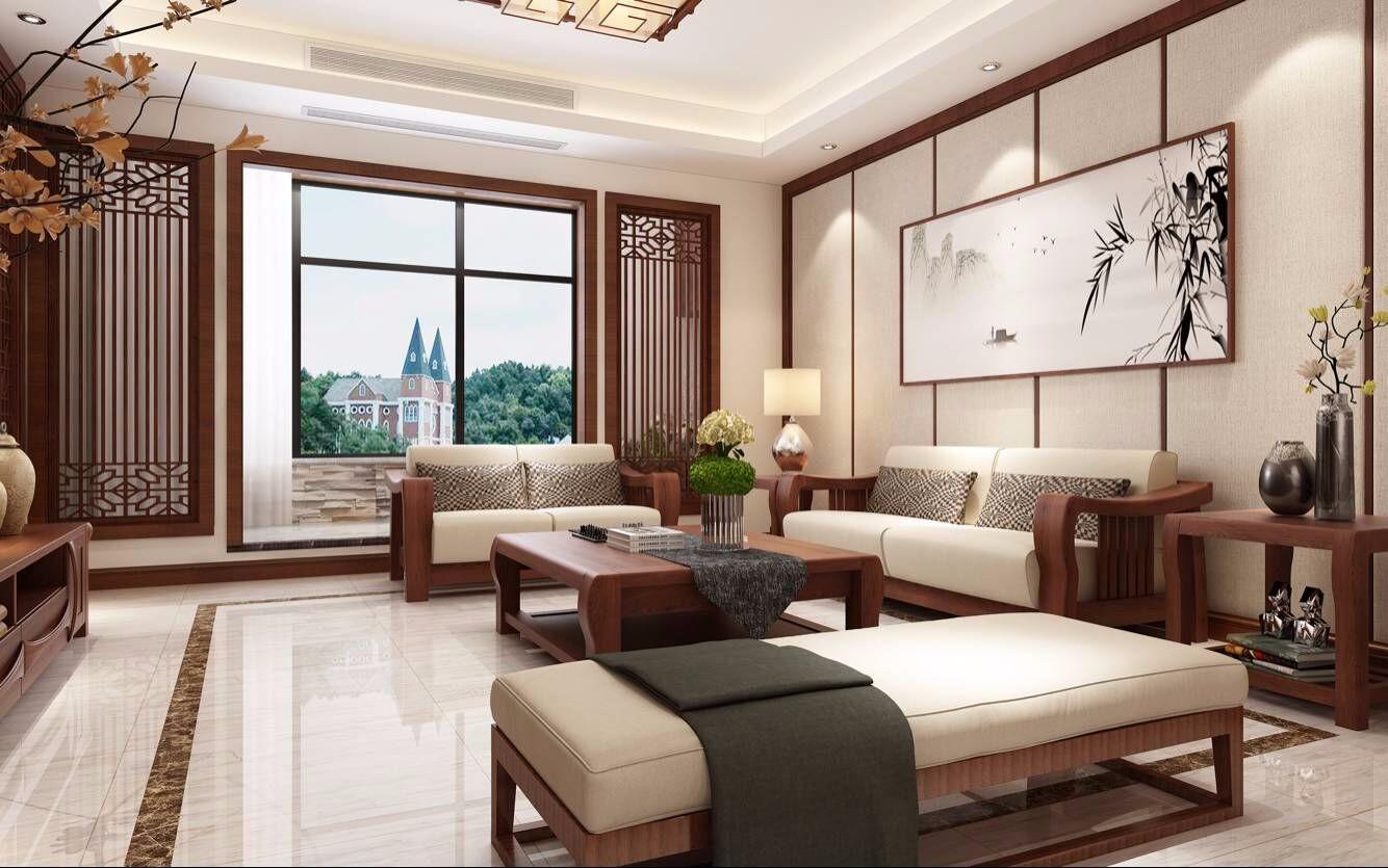 4室3卫2厅204平米中式风格
