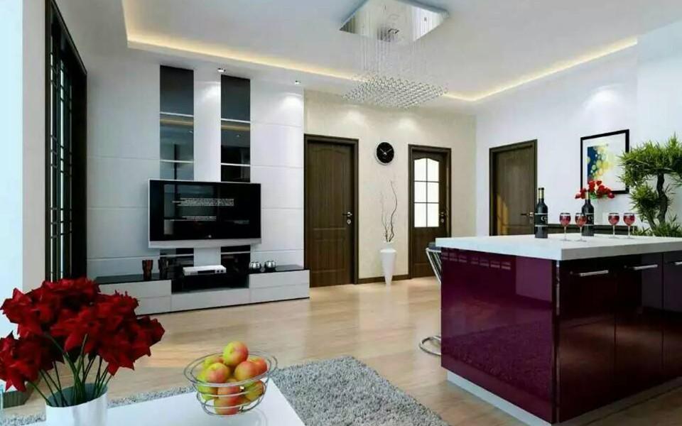 2室1卫1厅103平米现代风格
